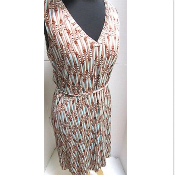 Milly Dresses New York Silk Sundress Sheath Bamboo Poshmark